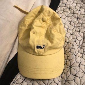 vineyard vines yellow hat